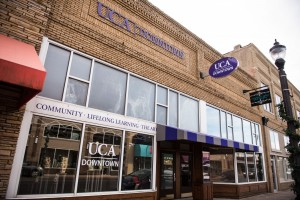 UCA Downtown grand opening and ribbon cutting