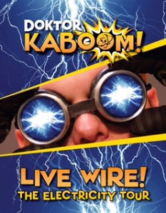 'Doktor Kaboom' performs at Reynolds Feb. 5