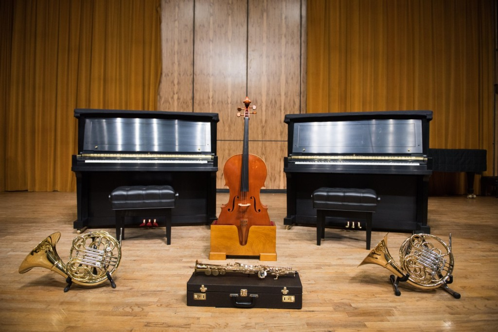 UCA Dept of Music instruments