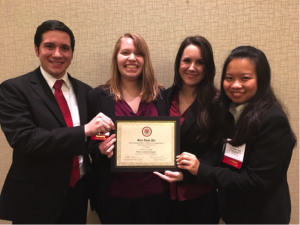 Students place first in Beta Alpha Psi regional competition