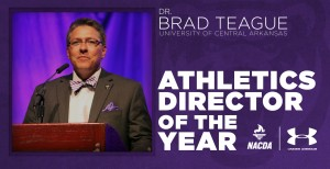 Teague receives national award from NACDA