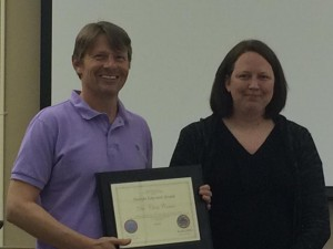 UCA professor recognized for service to veterans