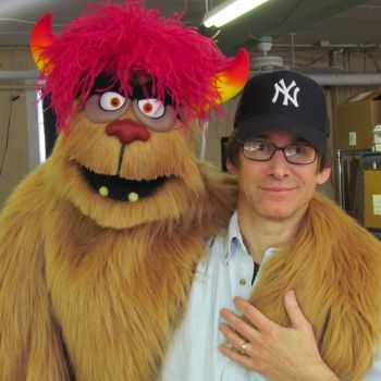 Actor and puppeteer Rick Lyon