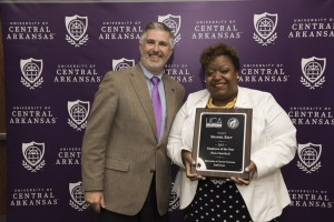 UCA RECOGNIZES FACULTY AND STAFF DURING SERVICE AWARDS