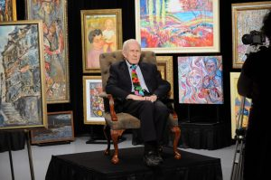 GENE HATFIELD ART EXHIBIT, 'A LIFETIME OF DISTINCTION, ACHIEVEMENT AND EMERITUS'