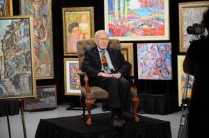 GENE HATFIELD ART EXHIBIT, 'A LIFETIME OF DISTINCTION, ACHIEVEMENT AND EMERITUS'