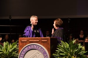 UCA WELCOMES DR. HOUSTON D. DAVIS AS 11TH PRESIDENT