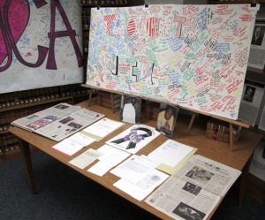 UCA ARCHIVES TO DISPLAY BLOCK/HENDERSON COLLECTION