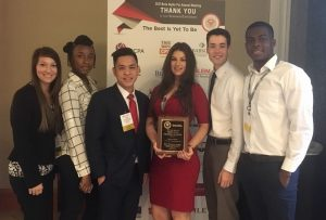 UCA BETA ALPHA PSI RECEIVES TOP HONORS AT ANNUAL MEETING