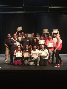 UCA THEATRE STUDENTS EARN STAGE COMBAT CERTIFICATION