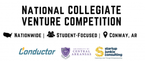CONDUCTOR TO HOST NATIONAL COLLEGIATE VENTURE COMPETITION