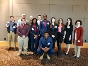 UCA STUDENTS AWARDED IN BETA ALPHA PSI REGIONAL COMPETITIONS