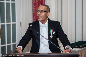 UCA PROFESSOR HONORED BY ETHIOPIAN CROWN