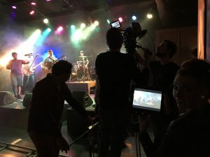 FACULTY AND STUDENTS PRODUCE COUNTRY MUSIC VIDEO FOR DON DERBY