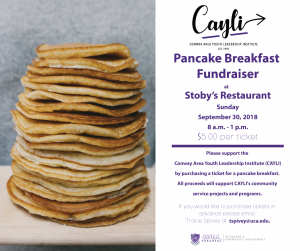 CAYLI TO HOST FUNDRAISER