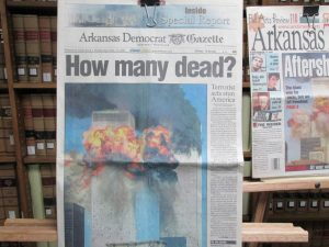 9/11 COLLECTION ON DISPLAY AT UCA ARCHIVES