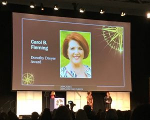 UCA ALUMNA RECEIVES DOROTHY DREYER AWARD FOR VOLUNTEERISM