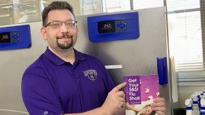 PROFESSOR AUTHORS BOOK ABOUT FLU SHOTS