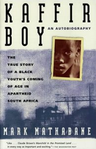 'KAFFIR BOY' AUTHOR MARK MATHABANE TO SPEAK AT UCA