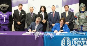 UCA, ASU-BEEBE SIGN 'BEAR PARTNERS' AGREEMENT