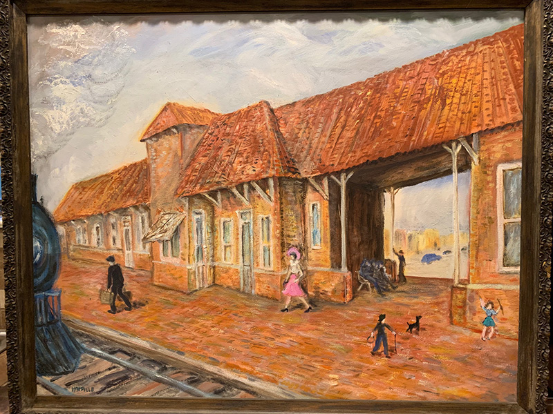 Conway Depot Painting