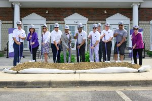 UCA HOSTS GREEK VILLAGE PHASE II GROUNDBREAKING