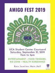 UCA TO HOST THIRD ANNUAL AMIGO FEST