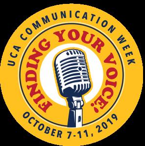 UCA COMMUNICATION WEEK TO BE HELD OCT. 7-11