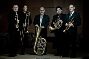 BOSTON BRASS TO PERFORM HOLIDAY FAVORITES AT REYNOLDS PERFORMANCE HALL