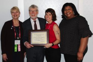 DIVISION OF OUTREACH AND COMMUNITY ENGAGEMENT WINS INTERNATIONAL AWARD