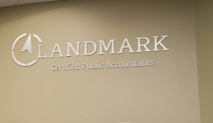 LANDMARK GIVES $50,000 TO COB ENHANCEMENT FUND