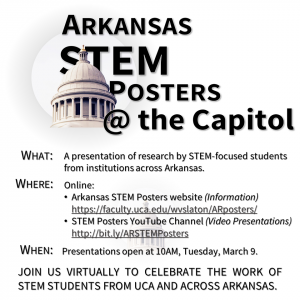 STEM POSTERS AT CAPITOL EVENT TO BE VIRTUAL
