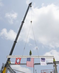 UCA Celebrates Topping Out of Windgate Center for Fine and Performing Arts