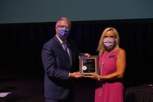UCA faculty honored at 2021 convocation