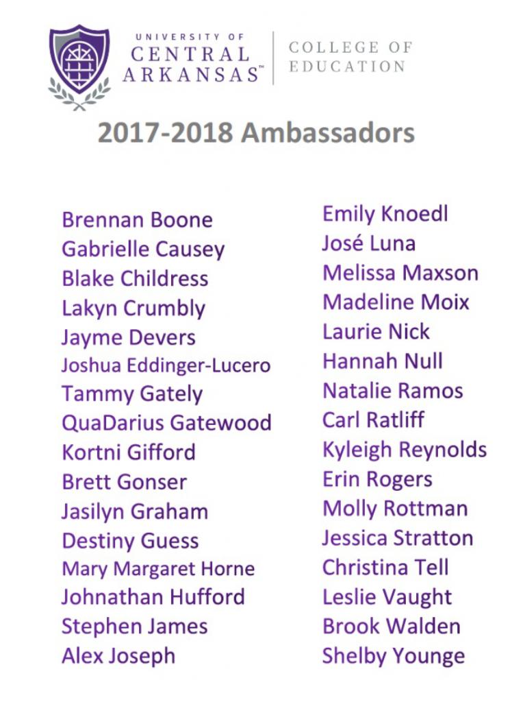 2017-18_Ambassadors_Announcement