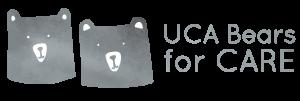 UCA Bears for CARE - Horizontal - Logo Design 2