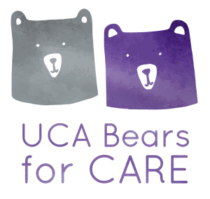 UCA Bears for CARE - Logo Design 3