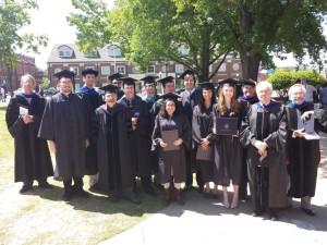 Physics & Astronomy Spring 2014 Graduates