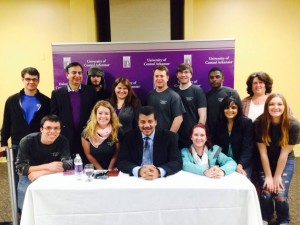 Society of Physics Students with Neil deGrasse Tyson February 27, 2014