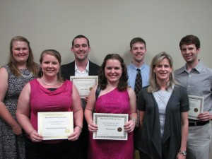 2012 Outstanding Students - Political Science