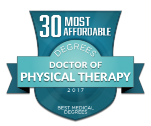 30 MOST AFFORDABLE DOCTOR OF PHYSICAL THERAPY (DPT) DEGREES