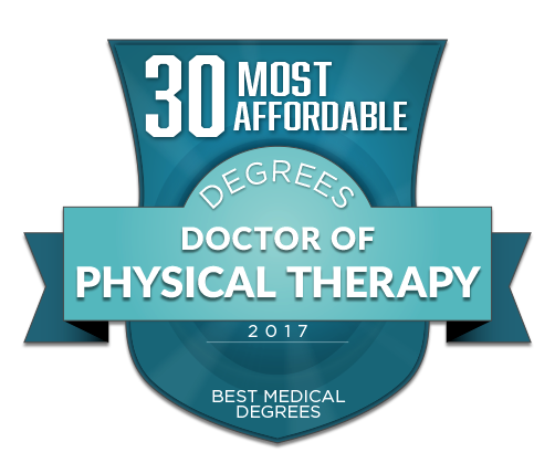 30 most affordable doctor of physical therapy dpt degrees