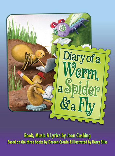 Diary of a Worm, a Spider, & a Fly