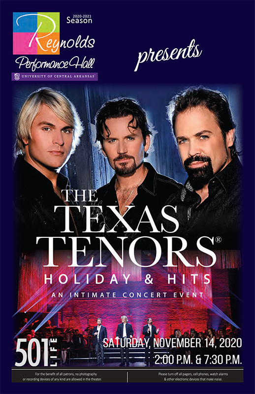 Texas Tenors Playbill