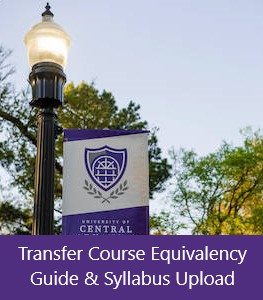 Transfer Course Equivalency Guide and Syllabus Upload