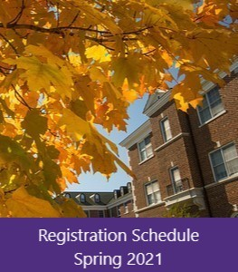 Advance Registration Schedule Fall 2019