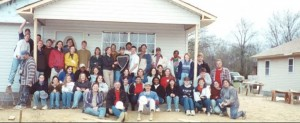 Habitat for Humanity Build 2001