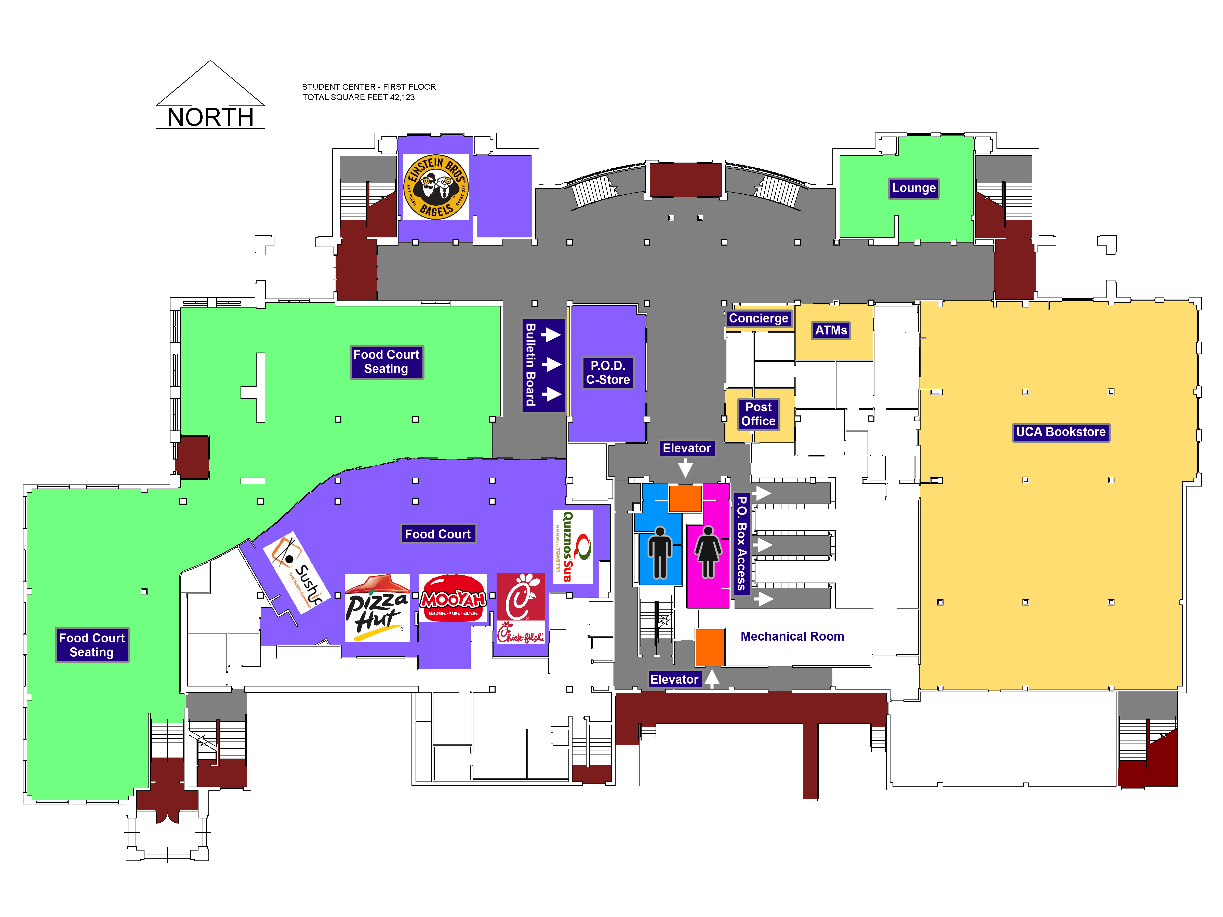 University Of Central Arkansas Campus Map.Ida Waldran Auditorium