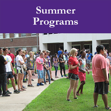 UCA Student Success Summer Start Programs