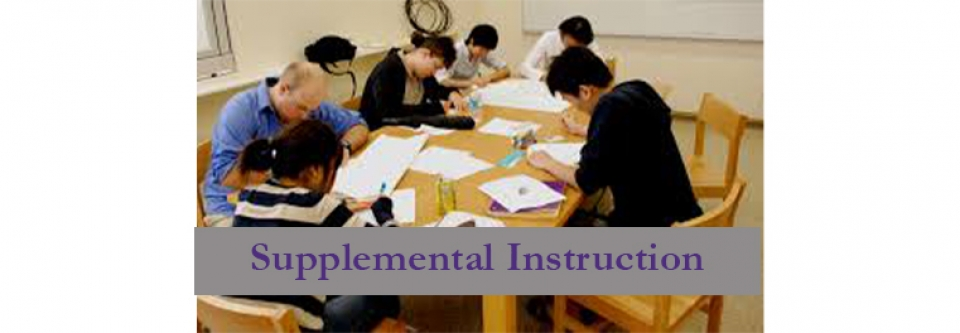 Supplemental Instruction - Guided Small Group Study Sessions
